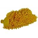 Koncówka mop z microfibry CHENILLE żółta pełna