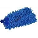Koncówka mop z microfibry CHENILLE niebieska pełna